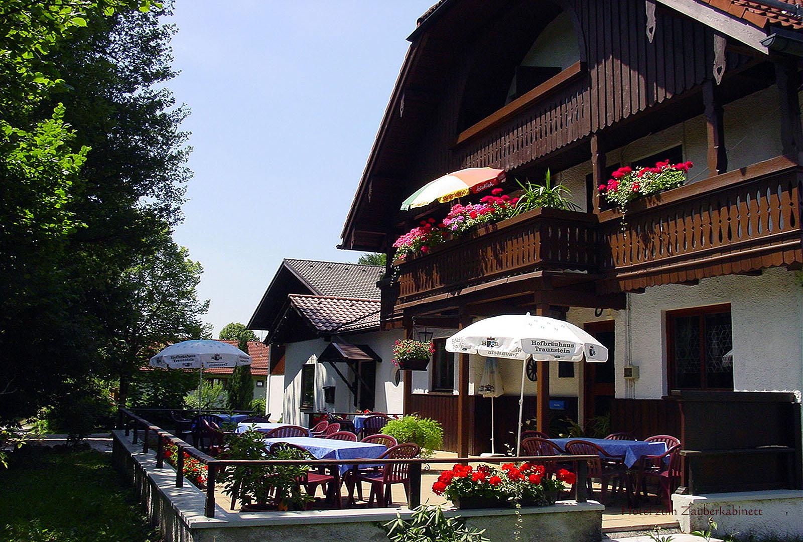 Terrasse Hotel zum Zauberkabinett