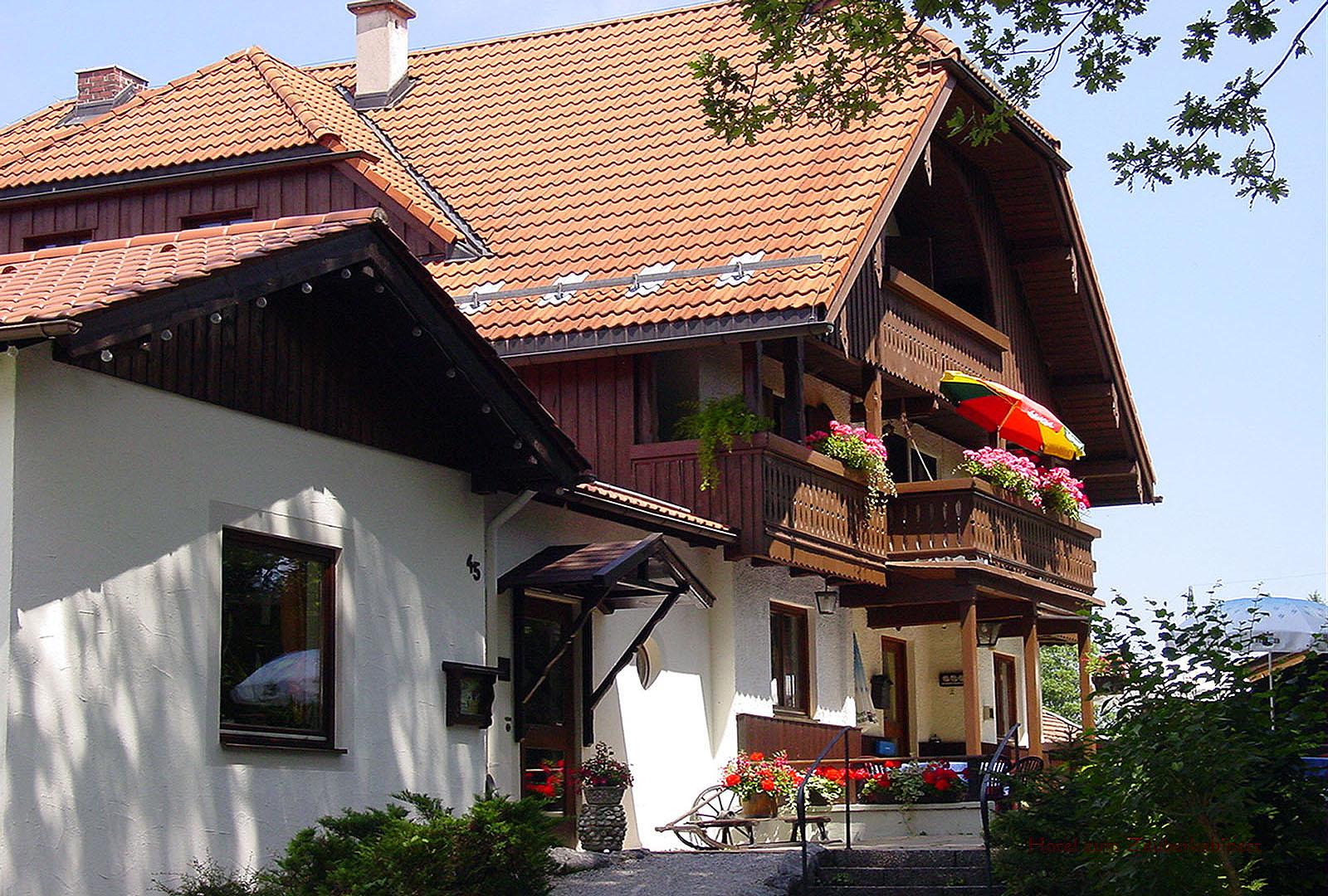 Eingang Hotel zum Zauberkabinett